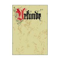 Bild Motiv-Papier, Urkunde Calligraphie, A4, 185 g/qm, 12 Blatt