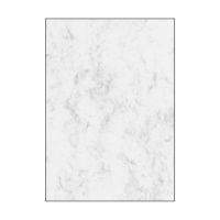 Bild Marmor-Papier, grau, A4, 200 g/qm, 50 Blatt