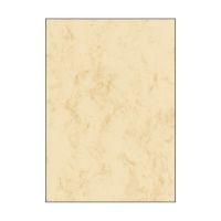 Bild Marmor-Papier, beige, A4, 200 g/qm, 50 Blatt