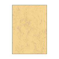 Bild Marmor-Papier, sandbraun, A4, 200 g/qm, 50 Blatt