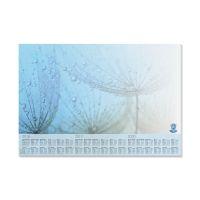 Bild Schreibunterlage Drops - 595 x 410 mm, Recycling-Papier, 30 Blatt