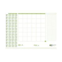 Bild Schreibunterlage - 525 x 375 mm, Recycling-Papier, 30 Blatt