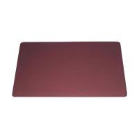 Bild Schreibunterlage mit Dekorrille - PVC, 650 x 520 mm, 2 mm, rot
