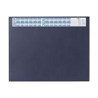 Bild Schreibunterlage mit Jahreskalender, PVC, 650 x 520 mm, 2 mm, dunkelblau
