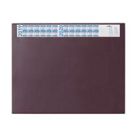 Bild Schreibunterlage mit Jahreskalender, PVC, 650 x 520 mm, 2 mm, rot