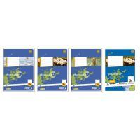 Bild Heft LIN3R A5 16 Blatt 80g/qm 14 Doppellinien mit Rand