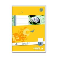 Bild Oktavheft - LIN51, A6, 32 Blatt, 80 g/qm, 7 mm liniert