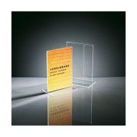 Bild Tischaufsteller, gerade, glasklar, für A6