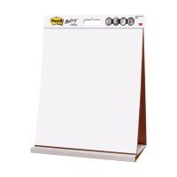 Bild Flipchart-Block Meeting Chart Table Top, weiß, 90 g/qm, blanko/blanko, 20 Blatt