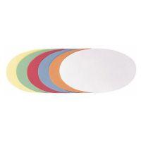 Bild Moderationskarte Oval, 190 x 110 mm, sortiert, 250 Stück