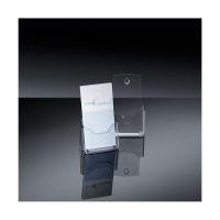 Bild Tisch-Prospekthalter acrylic, mit 1 Fach, glasklar, für DL