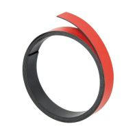 Bild Magnetband - 100 cm x 15 mm, rot
