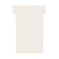 Bild Kartentafel-Zubehör T-Karten - Größe 2, weiß