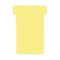 Bild Kartentafel-Zubehör T-Karten - Größe 2, gelb