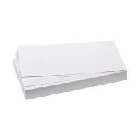 Bild Moderationskarte, Rechteck, 205 x 95 mm, weiß, 500 Stück