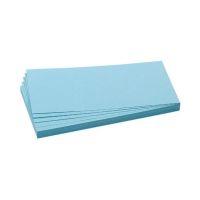 Bild Moderationskarte, Rechteck, 205 x 95 mm, hellblau, 500 Stück