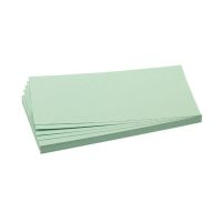Bild Moderationskarte, Rechteck, 205 x 95 mm, hellgrün, 500 Stück