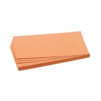 Bild Moderationskarte, Rechteck, 205 x 95 mm, orange, 500 Stück