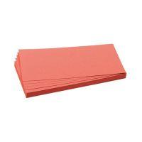 Bild Moderationskarte, Rechteck, 205 x 95 mm, rot, 500 Stück