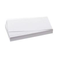 Bild Moderationskarten - selbsthaftend, rechteckig, 20,5 x 9,5 cm, weiß, 100 Stück