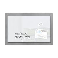 Bild Glas-Magnetboard artverum®, super-weiß, 78 x 48 cm