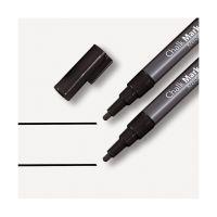 Bild Kreidemarker 20 - Rundspitze 1-2 mm, schwarz, 2 Stück