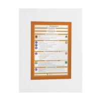 Bild Magnetrahmen DURAFRAME® - A4, 322 x 236 mm, orange