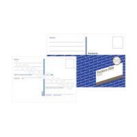 Bild 2840 Postkarte, DIN A6, vorgedruckt, 10 Karten, weiß
