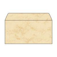 Bild Umschlag, Marmor beige, DIN lang (110x220 mm), 90 g/qm, 50 Umschläge