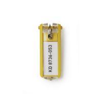 Bild Schlüsselanhänger KEY CLIP - gelb - Beutel mit 6 Stück