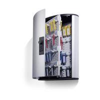 Bild Schlüsselkasten KEY BOX - 72 Haken, mit Zahlenschloss und Panel, grau