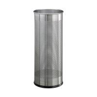 Bild Schirmständer Metall rund 28,5 Liter, metallic silber
