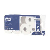Bild Premium Toilettenpapier, extra weich - 3-lagig m. Dekorprägung, hochweiß, Packung mit 8 Rollen