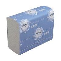 Bild Handtücher - Zickzack, weiß, 23,8x20,3 cm, 2400 Tücher