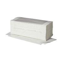 Bild Handtücher Ideal - Zick-Zack-Falzung, 1-lagig, weiß, 20 x 250 Blatt