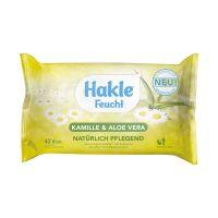 Bild Toilettentücher Kamille + Aloe Vera - feucht, 42 Stück
