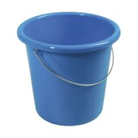 Bild Eimer - Plastik, rund, 10 Liter, blau