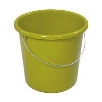 Bild Eimer - Plastik, rund, 10 Liter, kiwi