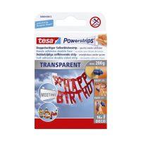 Bild Powerstrips® Deco - ablösbar, Tragfähigkeit 200 g, transparent