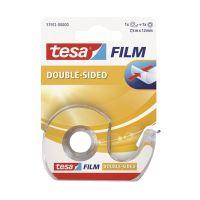 Bild tesafilm®  doppelseitig klebend, beidseitig Bandgröße (L x B): 7,5 m x 12 mm