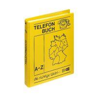 Bild Telefonringbuch - A5, gelb, inkl. Einlagen und 12-teiliges Register A-Z