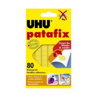 Bild patafix Orignal, wieder ablösbar, gelb, 80 Stück