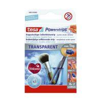Bild Powerstrips® Large - ablösbar, Tragfähigkeit 1 kg, transparent