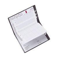 Bild Kunstledereinband für Taschenkalender A5, schwarz