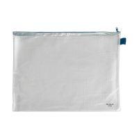 Bild Reißverschlusstaschen - transparent/blau, A3, 445 x 320 mm