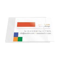 Bild Visitenkartentaschen - Öffnung an der kurzen Seite, 9,3 x 5,6 cm, 10 Stück
