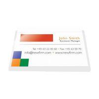 Bild Visitenkartentaschen - Öffnung an der langen Seite, 9,3 x 5,6 cm, 10 Stück