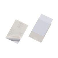 Bild Selbstklebetasche POCKETFIX® - 93x62 mm, seitlich offen, transparent, 100 Stück
