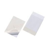 Bild Selbstklebetasche POCKETFIX® - 150x110 mm, seitlich offen, transparent, 25 Stück