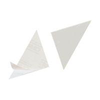 Bild Dreiecktasche Cornerfix®, 75x75mm, sk., transparent, 100St.